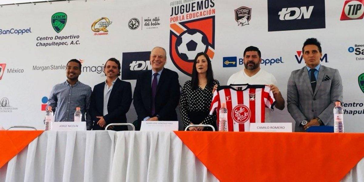 Leyendas del Súper Clásico jugarán por la educación en México