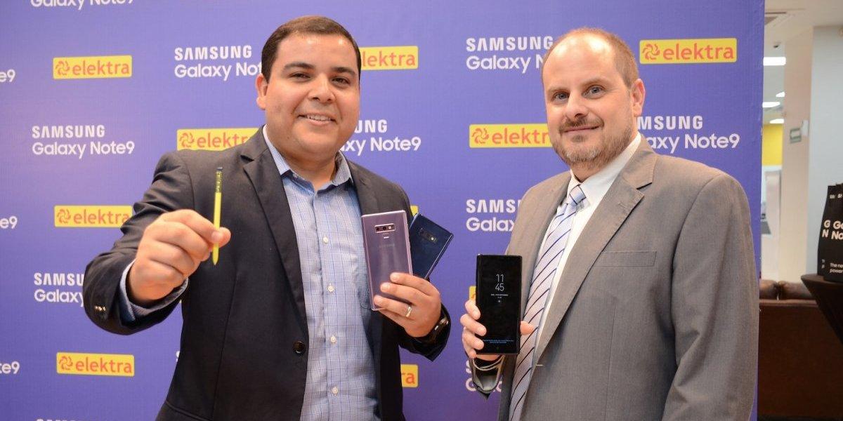 Elektra anuncia que el Galaxy Note9 estará disponible en sus tiendas