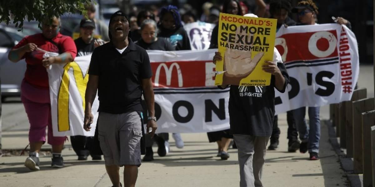 Huelga de trabajadores de McDonald's en 10 ciudades de EE. UU. por acoso sexual