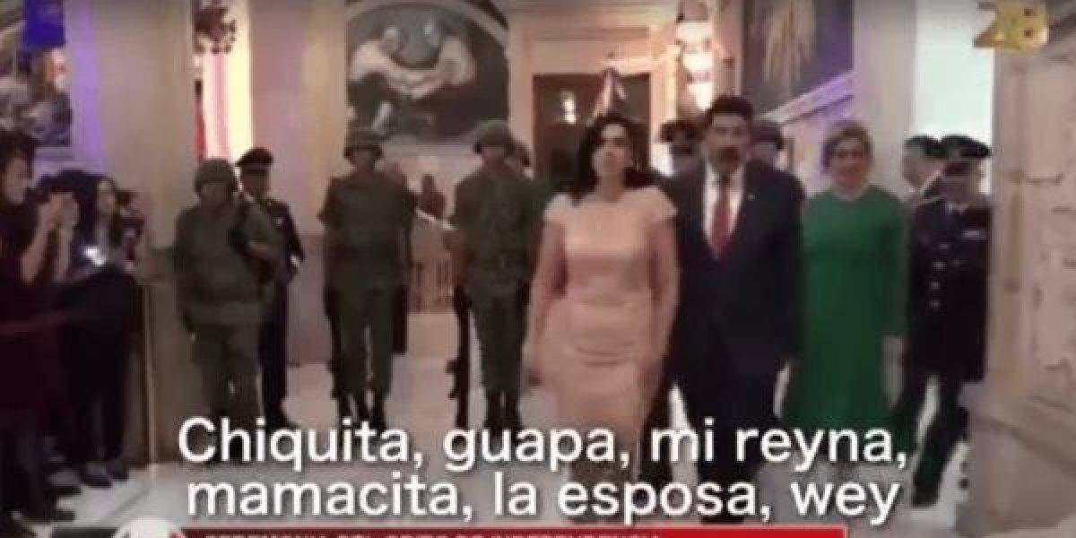 Técnicos 'sabrosean' a esposa de Javier Corral