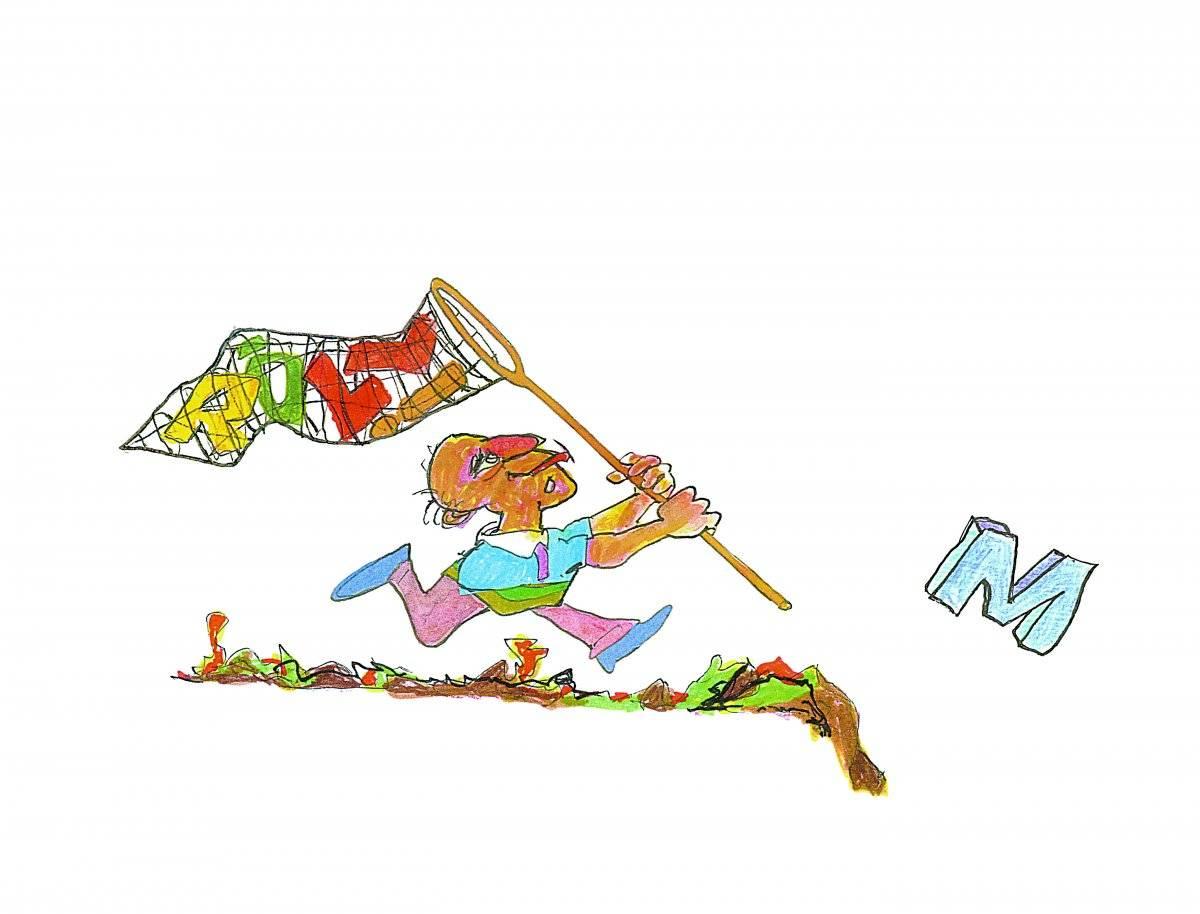 Desenho de assinatura, 2005 Acervo Millôr Fernandes / Instituto Moreira Sallles