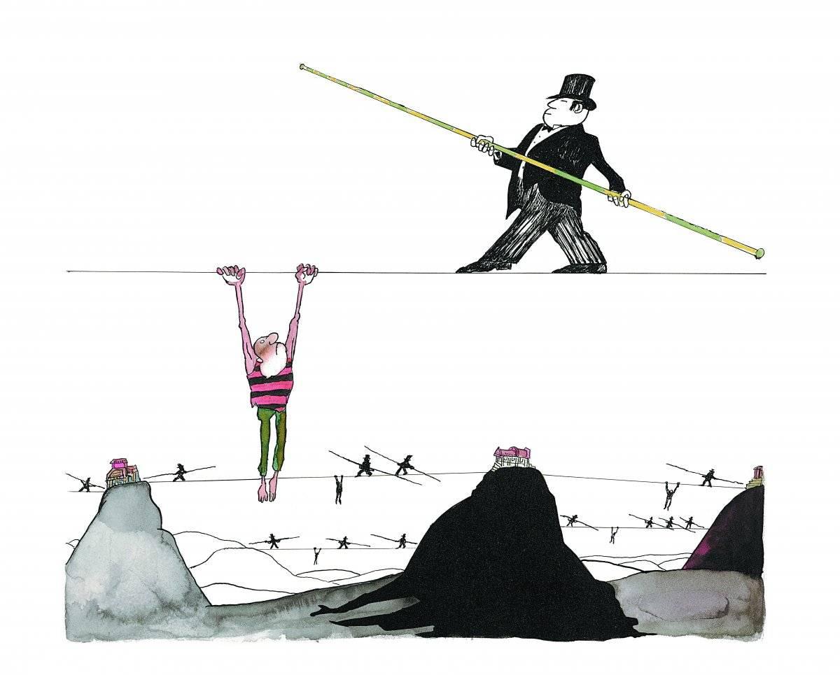 Desenho, s.d. Acervo Millôr Fernandes / Instituto Moreira Sallles
