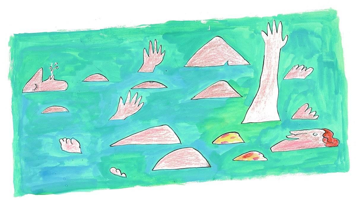 Desenho, 1971 Acervo Millôr Fernandes / Instituto Moreira Salles