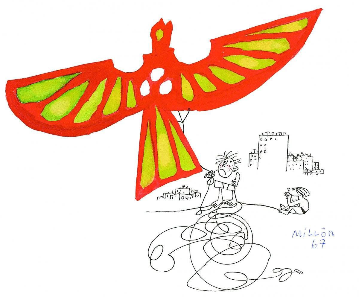Desenho, 1967 Acervo Millôr Fernandes / Instituto Moreira Sallles