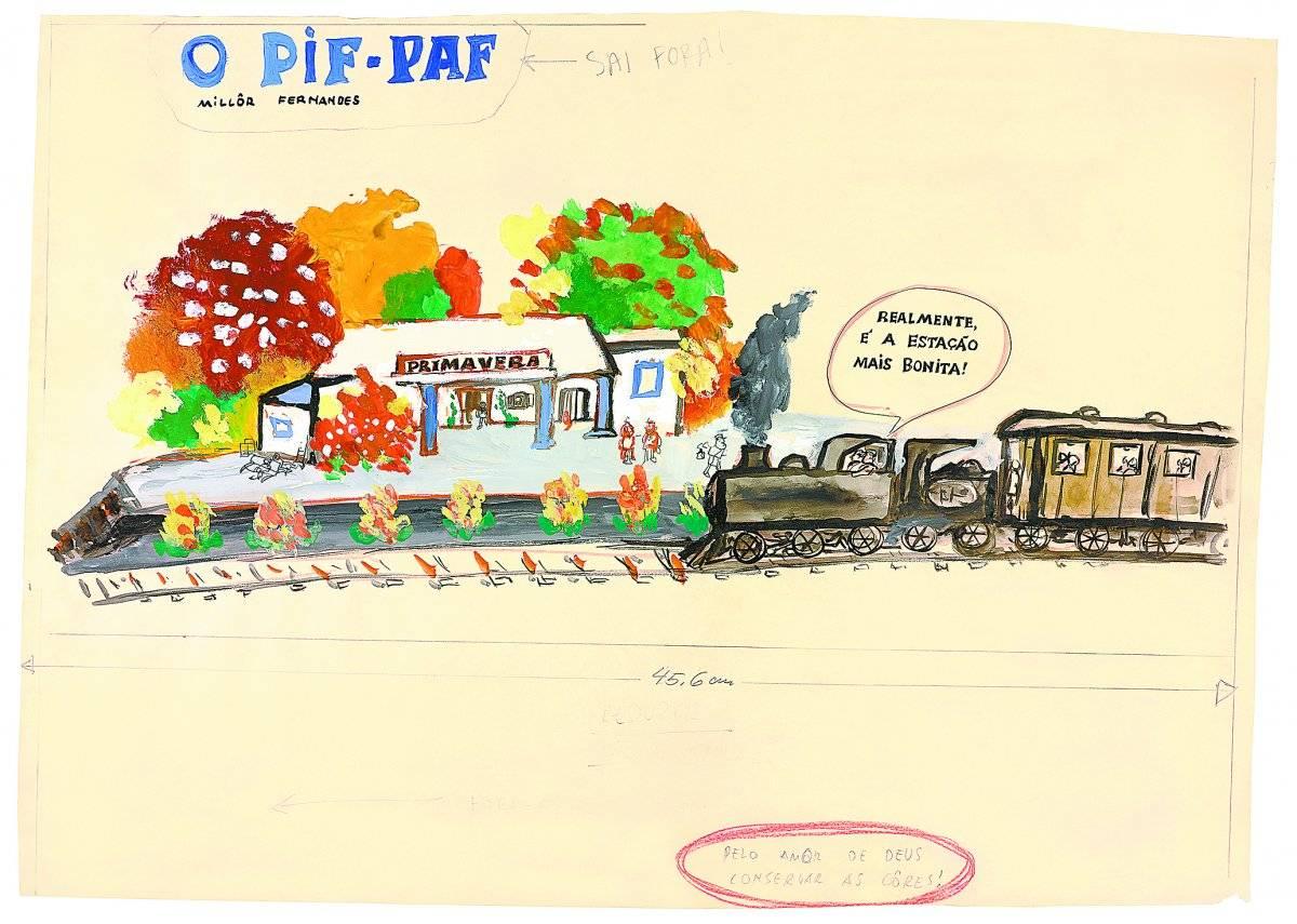 Parada, 1962 Acervo Millôr Fernandes / Instituto Moreira Sallles