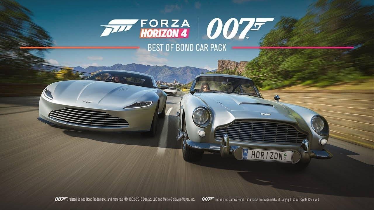 Forza Horizon 4 tendrá un DLC con autos emblemáticos de James Bond