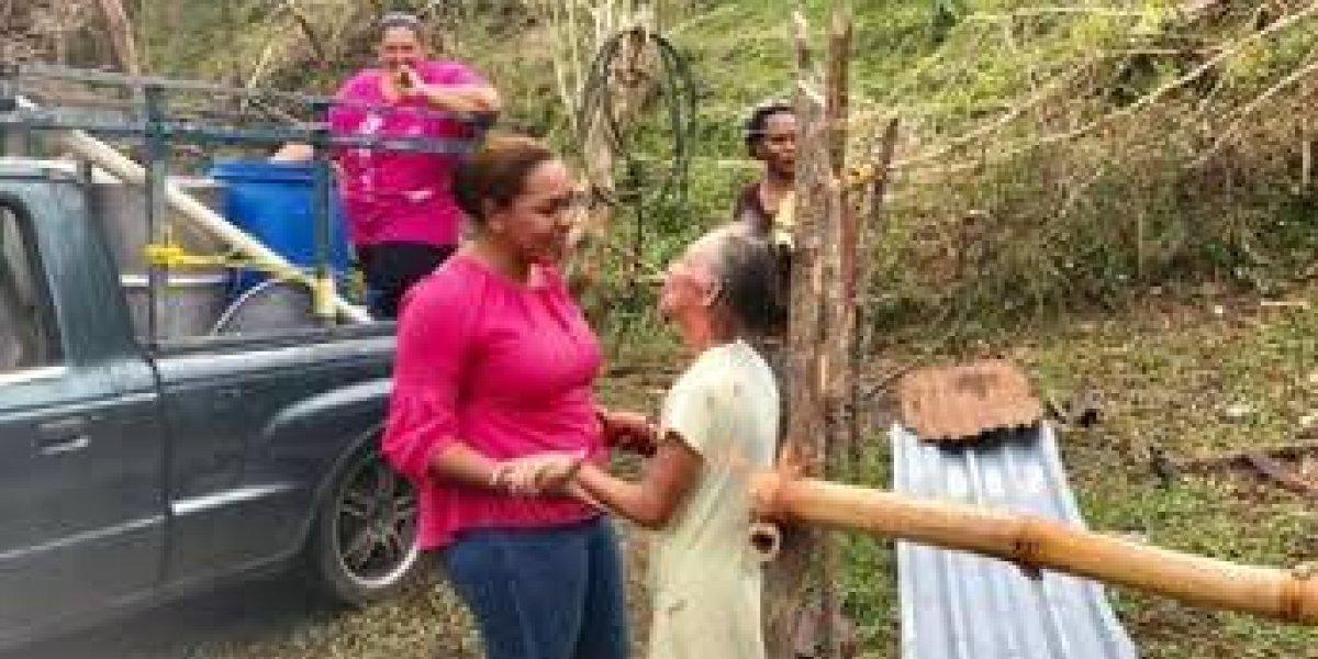 Satisfecha alcaldesa de Gurabo tras respuesta de su administración a un año de María