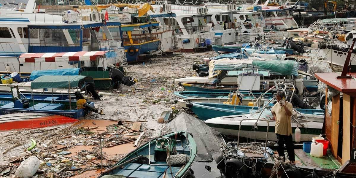 Tufão Mangkhut matou pelo menos 74 pessoas nas Filipinas