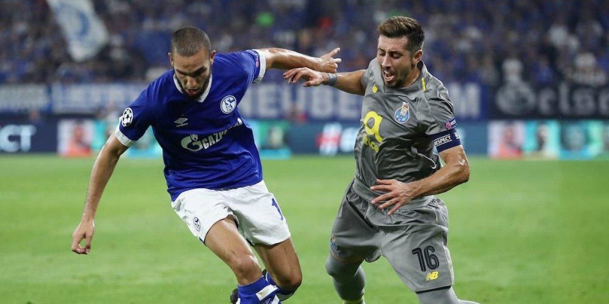 El Porto de Herrera y Corona rescata un punto ante el Schalke