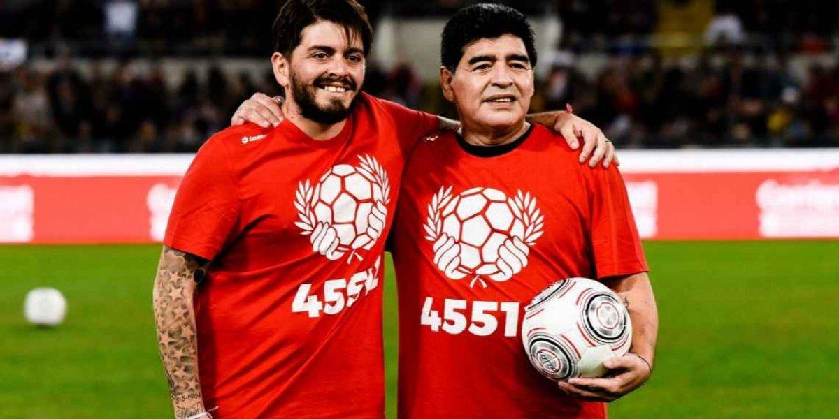 Hijo de Maradona jugará en Italia