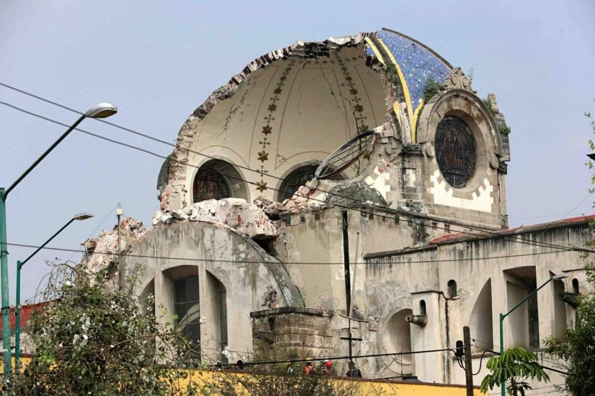 Las iglesias quedarán reconstruidas hasta 2020. Cortesía.