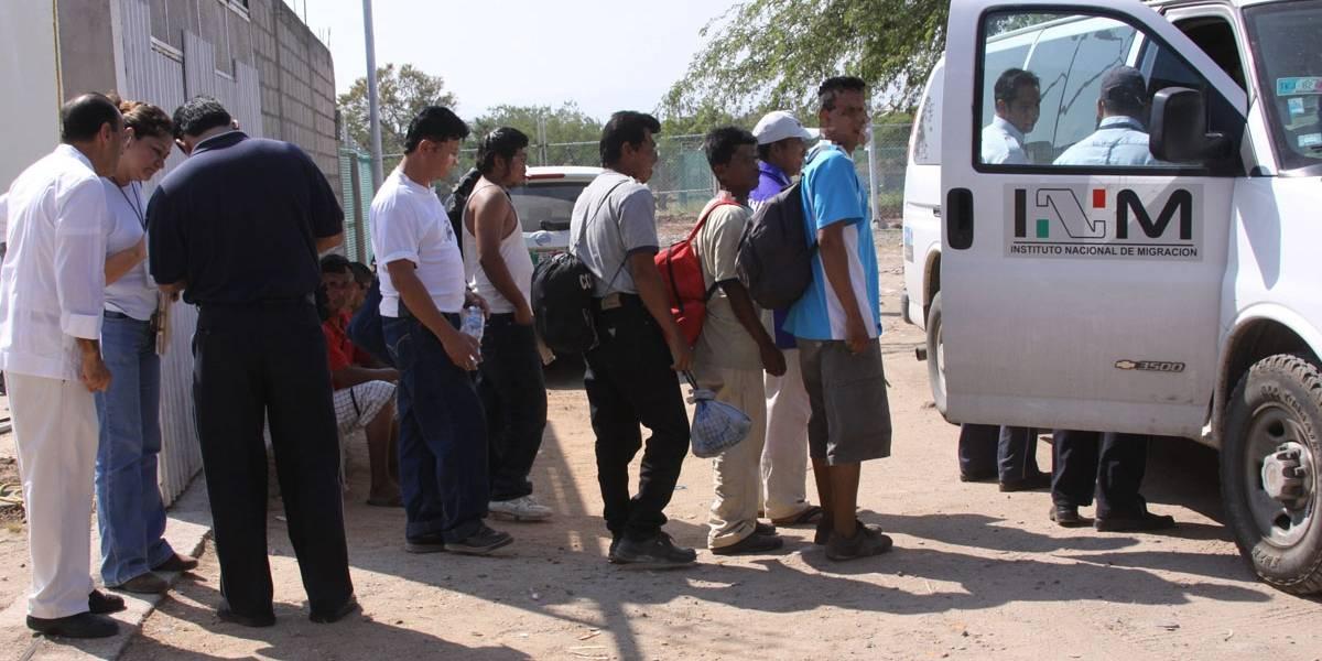 Detienen a 124 inmigrantes, entre ellos dos salvadoreños, en México