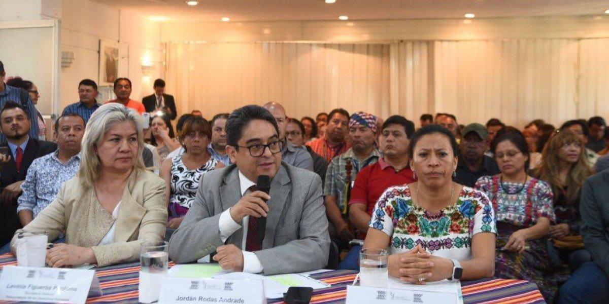 PDH espera que la CC ordene la remoción de los ministros Jovel y Degenhart