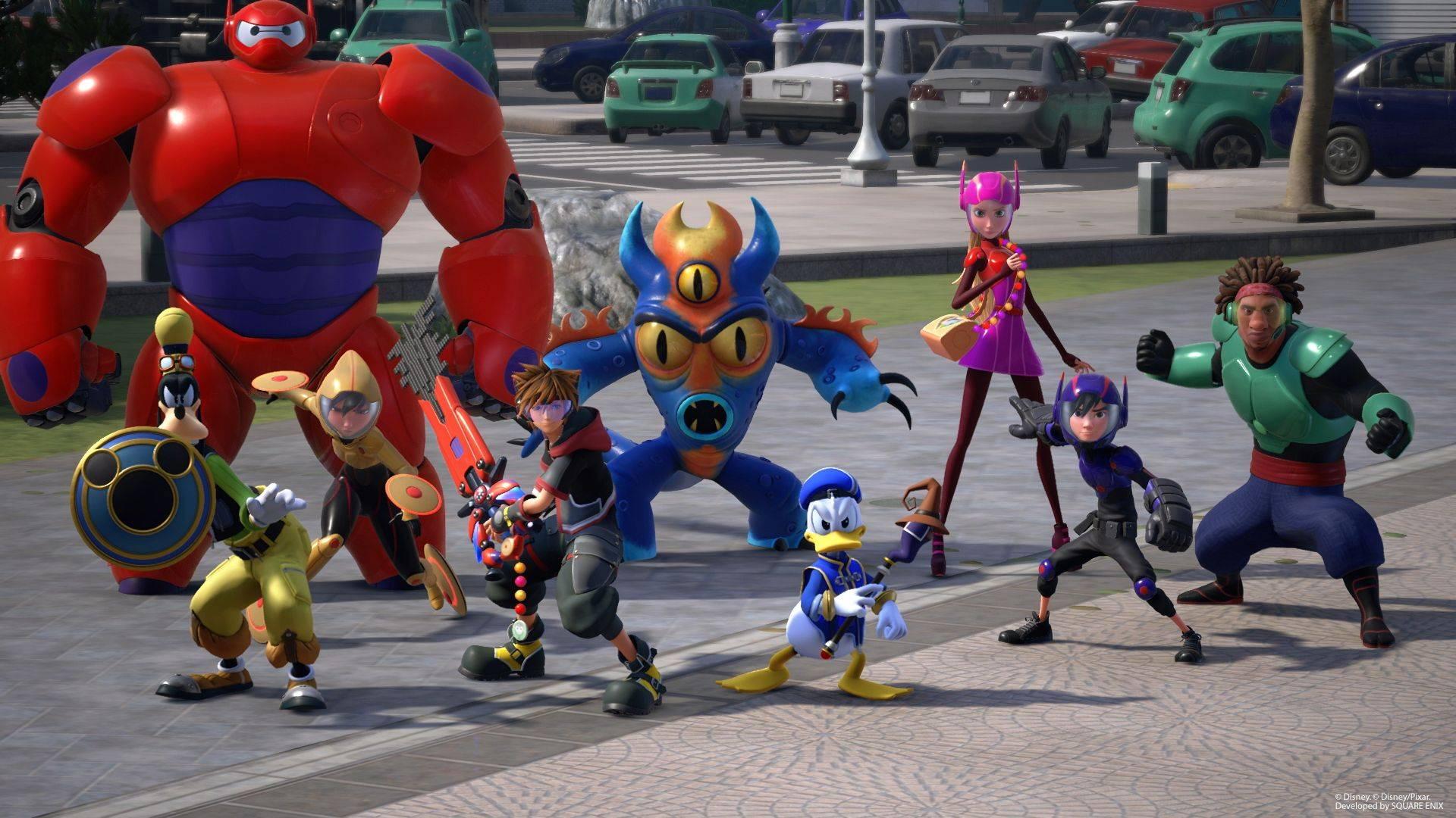 Kingdom Hearts III estrena tráiler con la presentación de Big Hero 6 y más jugabilidad