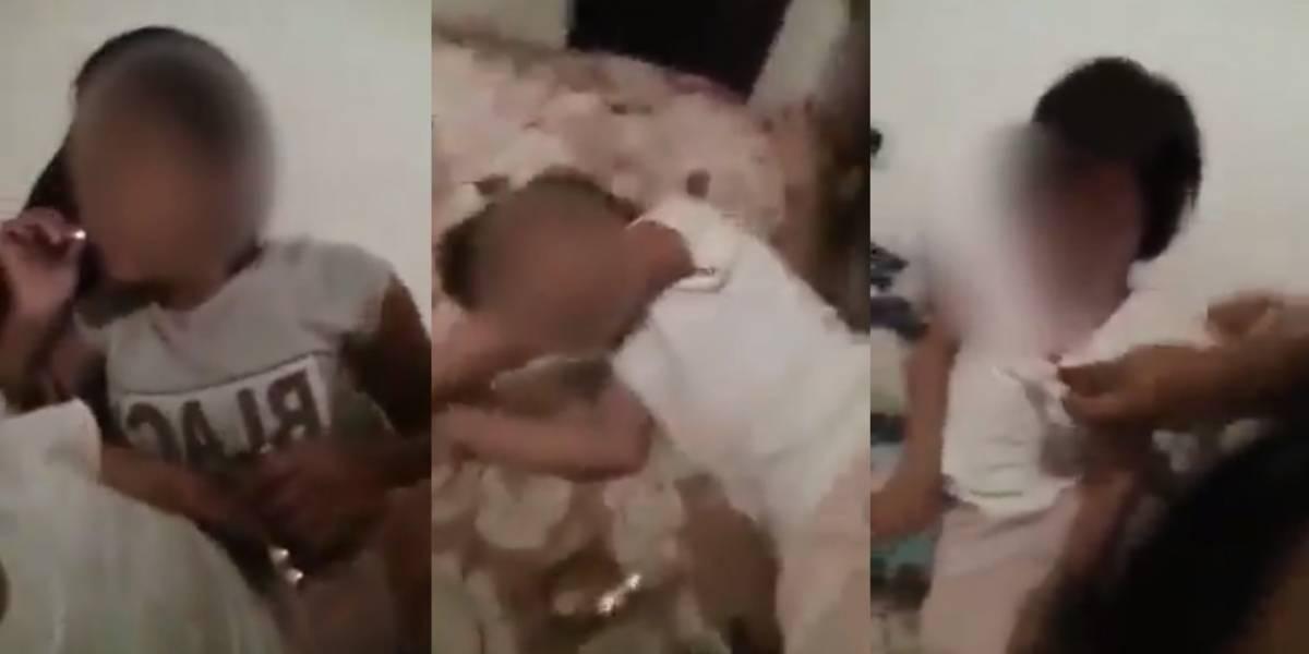 Nuevos detalles sobre el video en el que tres adolescentes le dan marihuana a una niña de cuatro años