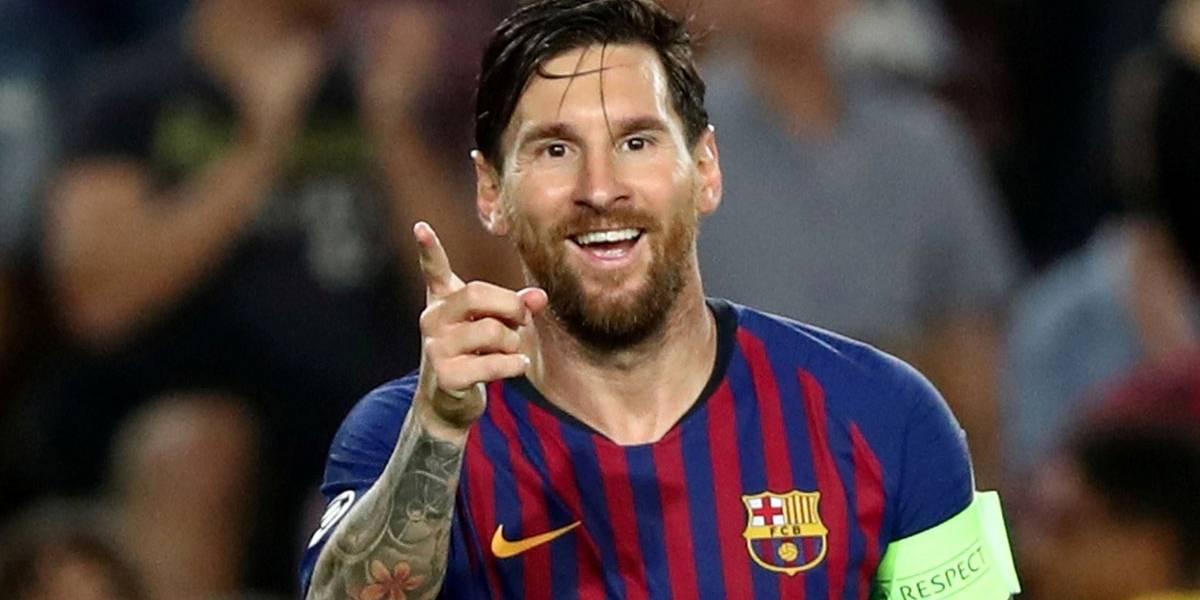 Messi marca 3 e Barça goleia em estreia na Liga dos Campeões; Inter vence