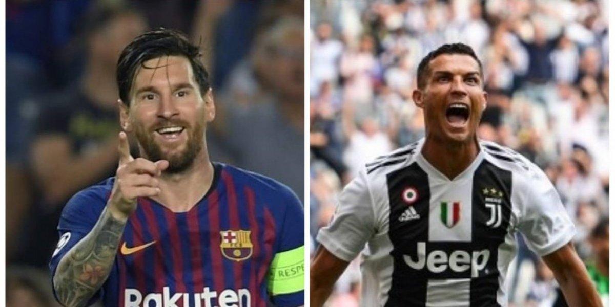 Messi supera a Cristiano Ronaldo en la Champions y MisterChip desata la polémica