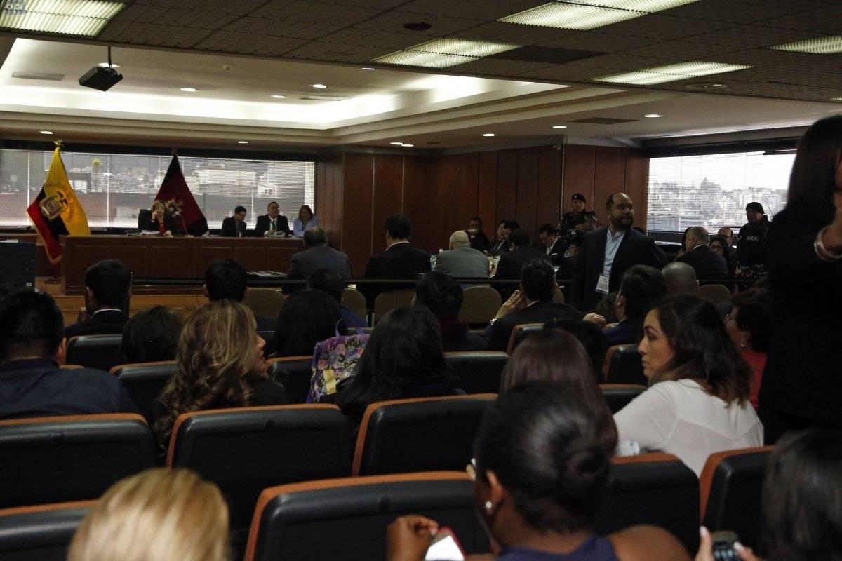 Rafael Correa reacciona ante la suspensión de audiencia del caso Balda API