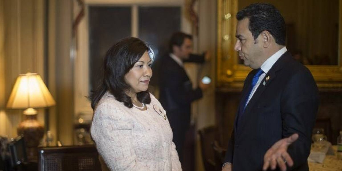"""Norma Torres califica de """"régimen criminal"""" el gobierno de Jimmy Morales y pide dura respuesta"""