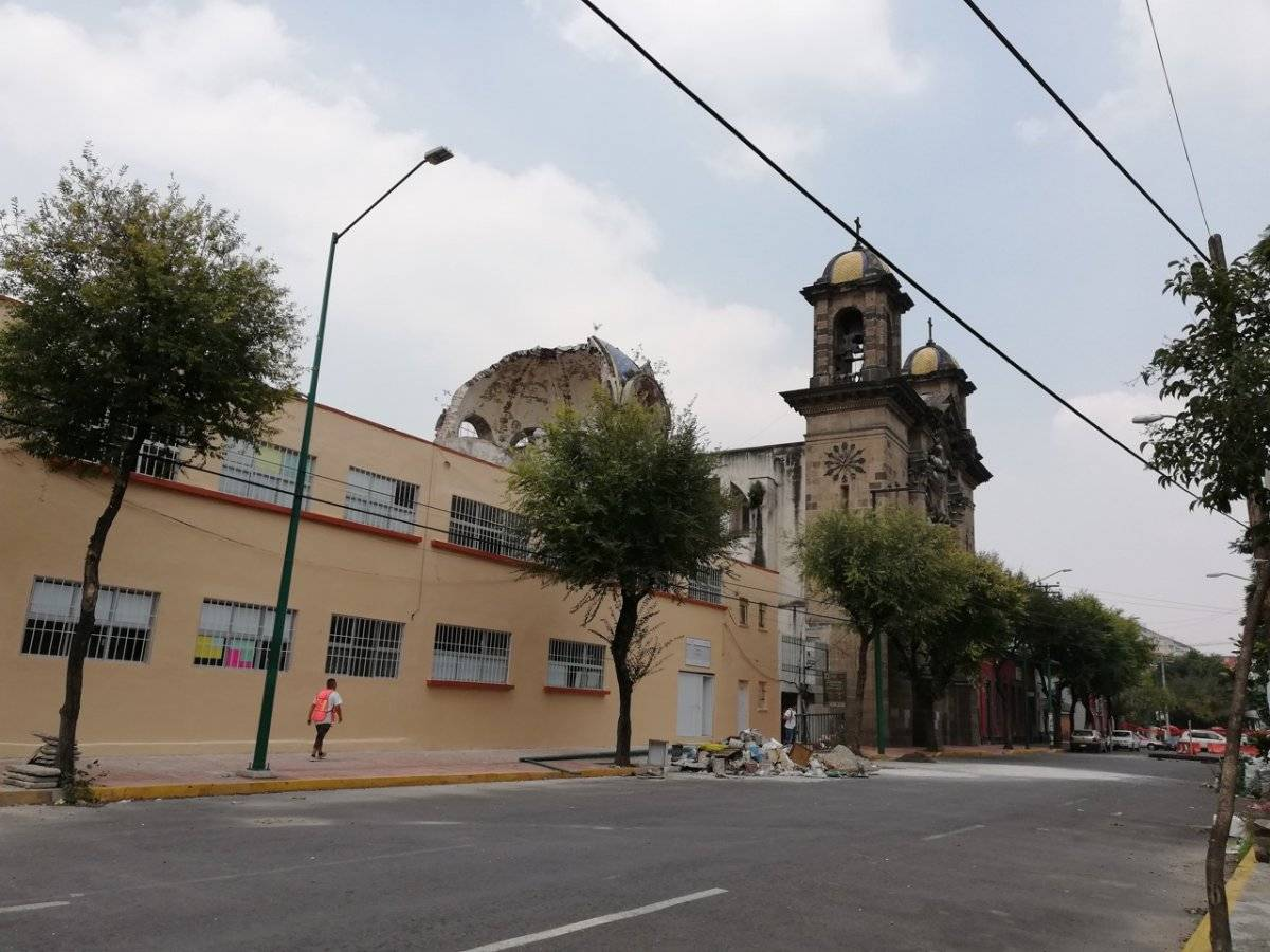 En total 107 iglesias resultaron afectadas. Nicolás Corte
