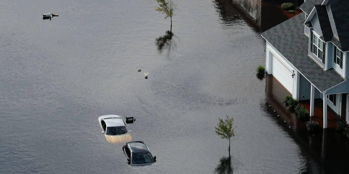 Daños de Florence rondarían los 20 mil millones de dólares en EE.UU