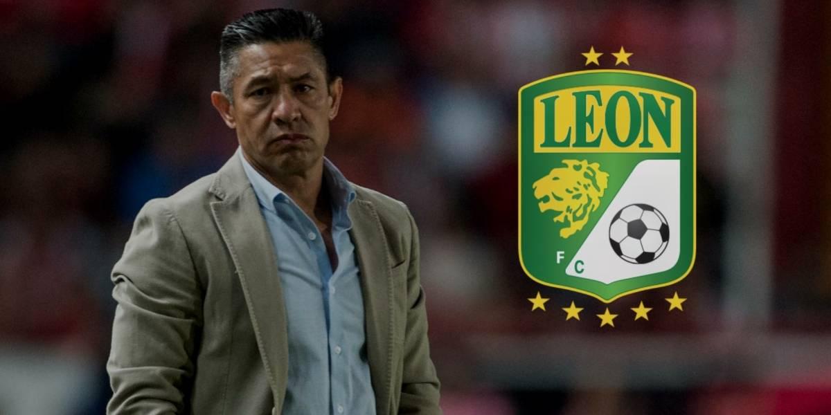 Ignacio Ambriz es el nuevo técnico de León