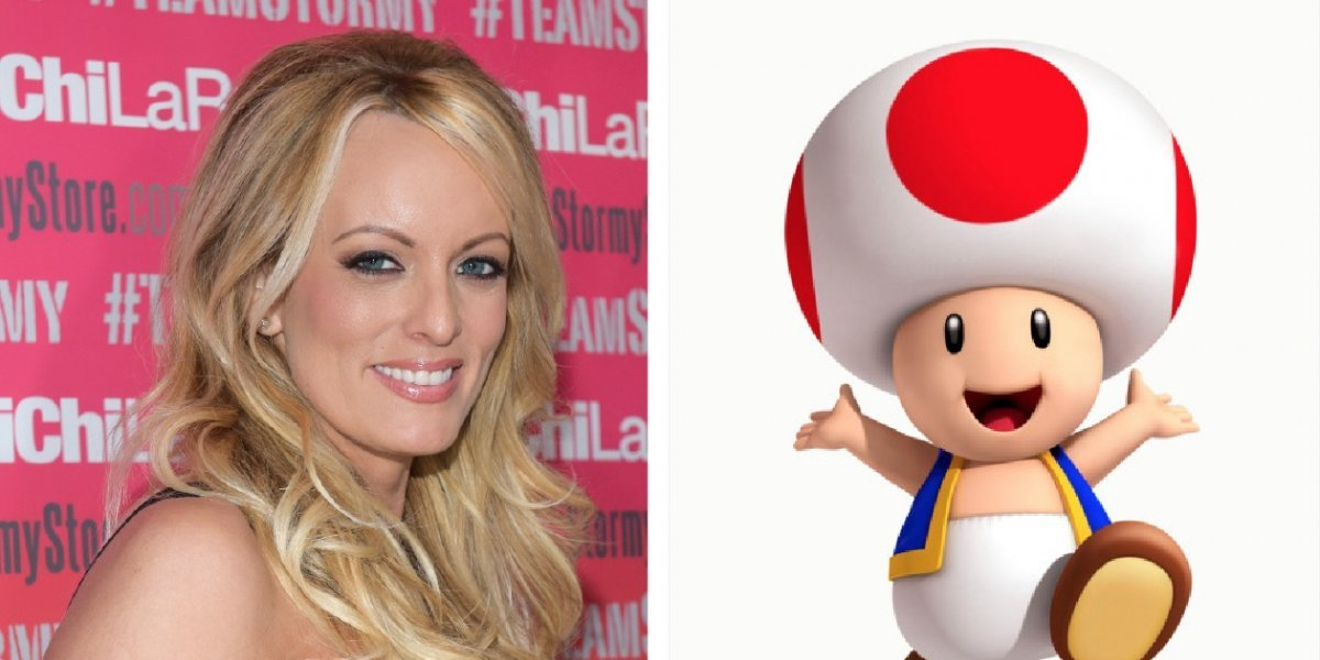 """Stormy Daniels compara las partes privadas de Donald Trump con un personaje de """"Mario Kart"""""""