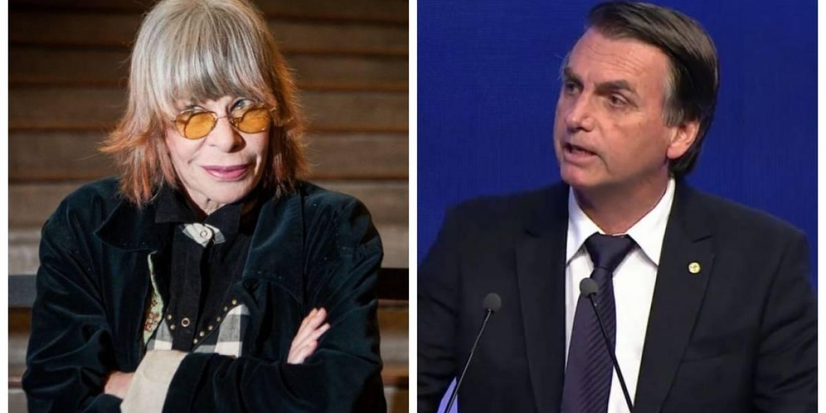 Publicação polêmica de Rita Lee sobre Bolsonaro ressurge e internet surta