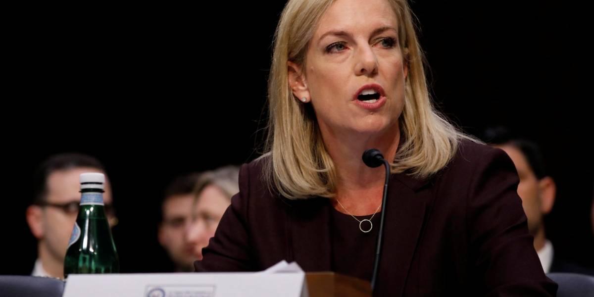 Renuncia la secretaria de Seguridad Nacional de los Estados Unidos