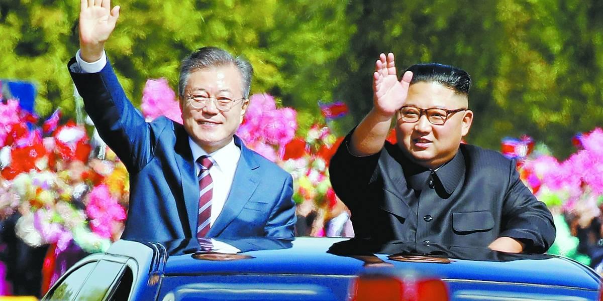 Começa cúpula de 3 dias entre Coreias pela desnuclearização