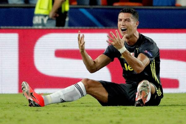 Cristiano Ronaldo expulsado