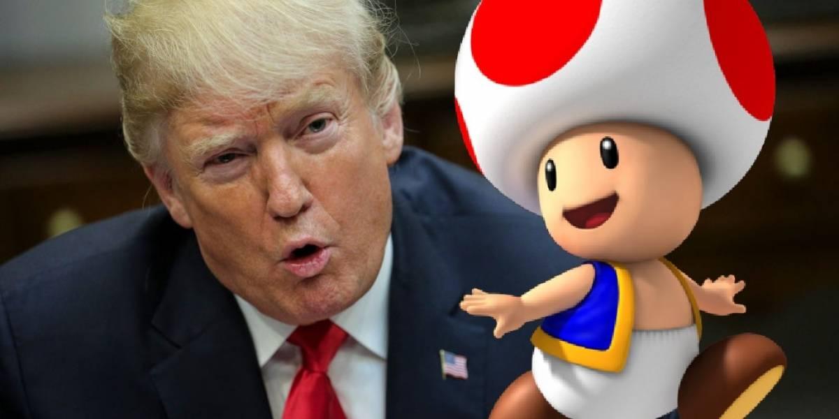 Comparan al miembro de Donald Trump con Toad e internet estalla en burlas