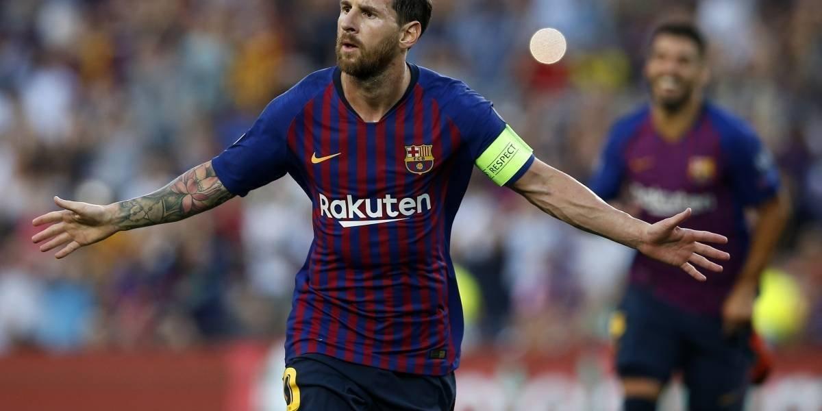 Messi y Barcelona arrasan con el PSV en un partido con muchos goles