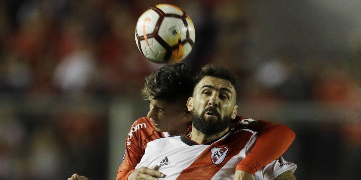 Asi vivimos el partidazo del Independiente de los chilenos ante River Plate por la Libertadores