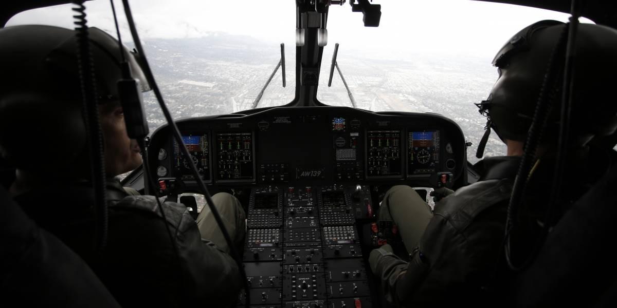 Rescatan en helicóptero a familia que quedó atrapada por la nieve en El Yeso