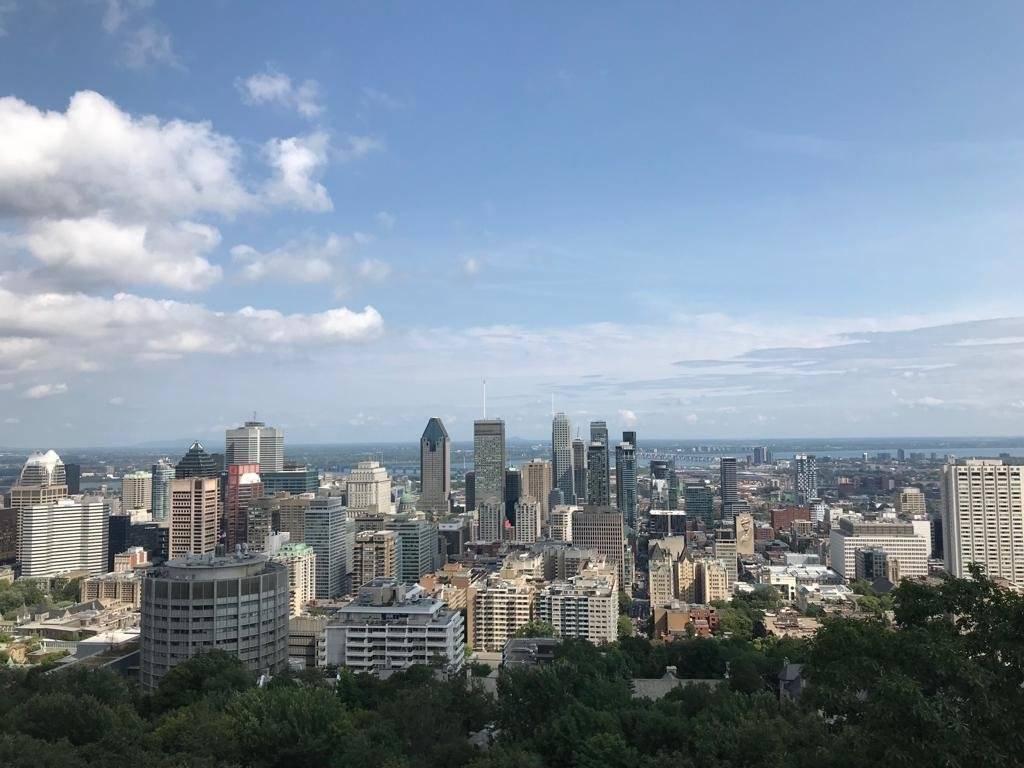 Vista de Montreal desde el Mont Royal Patricia Carranza