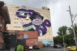 Mural Leonard Cohen