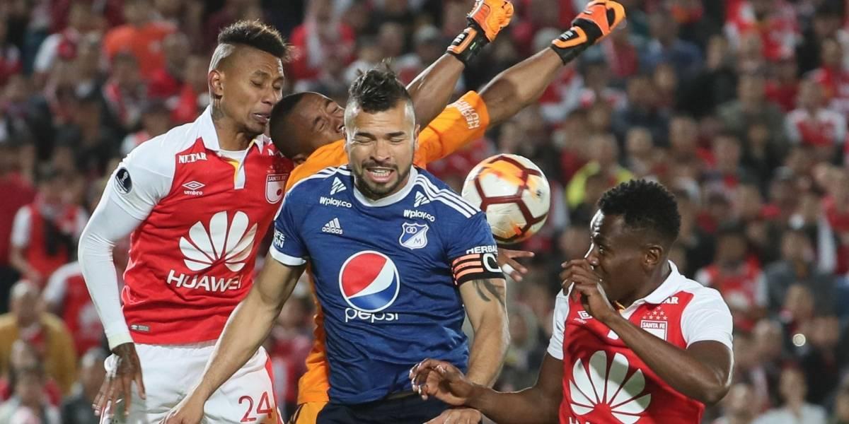 ¡Empate sin altura en Bogotá! Pálido clásico entre Millonarios y Santa Fe