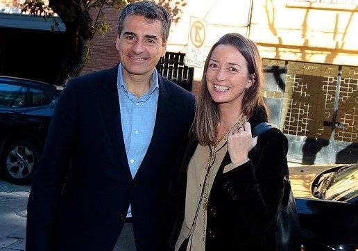 Consuelo Saavedra y Andrés Velasco