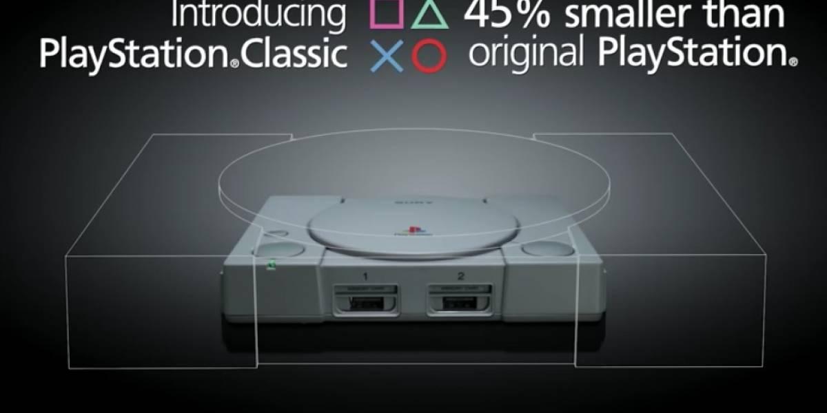 FOTOS: Sony anuncia la consola PlayStation Classic con 20 juegos precargados