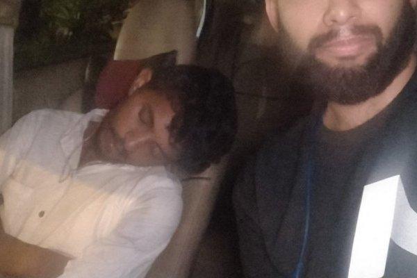Pareja infiel pide Uber y se llevan el susto de su vida