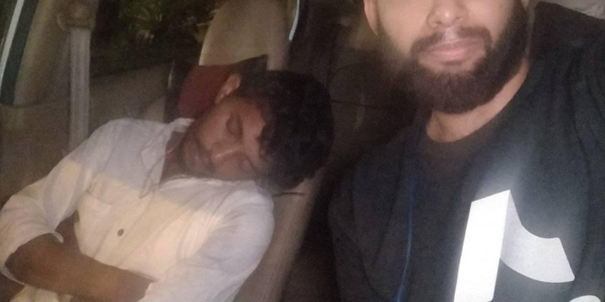 Conductor de Uber estaba borracho y el pasajero decidió manejar su carro