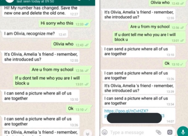 """Primero """"Momo"""", ahora """"Olivia"""": Conoce el nuevo viral porno de WhatsApp"""