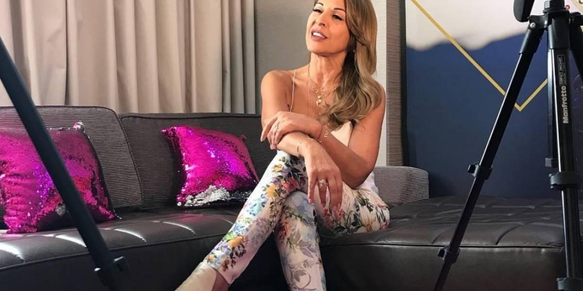 La verdadera edad de la presentadora Amparo Grisales
