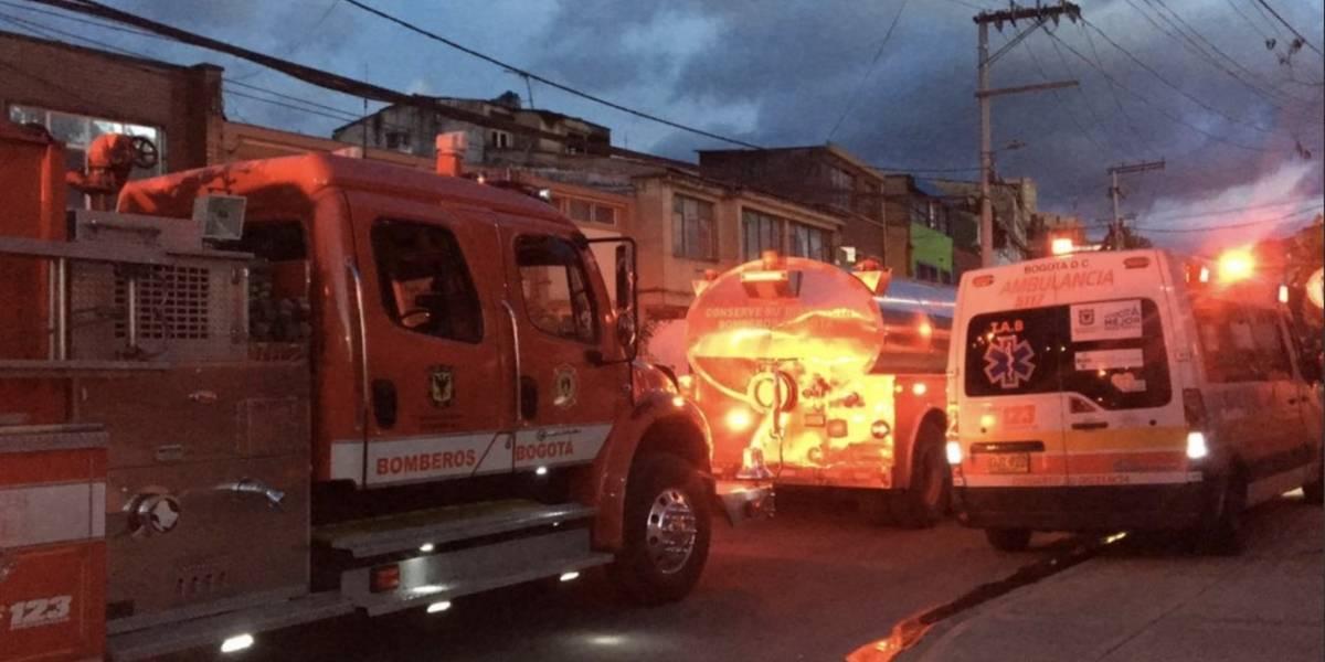 Reportan explosión en Bogotá por la calle 26