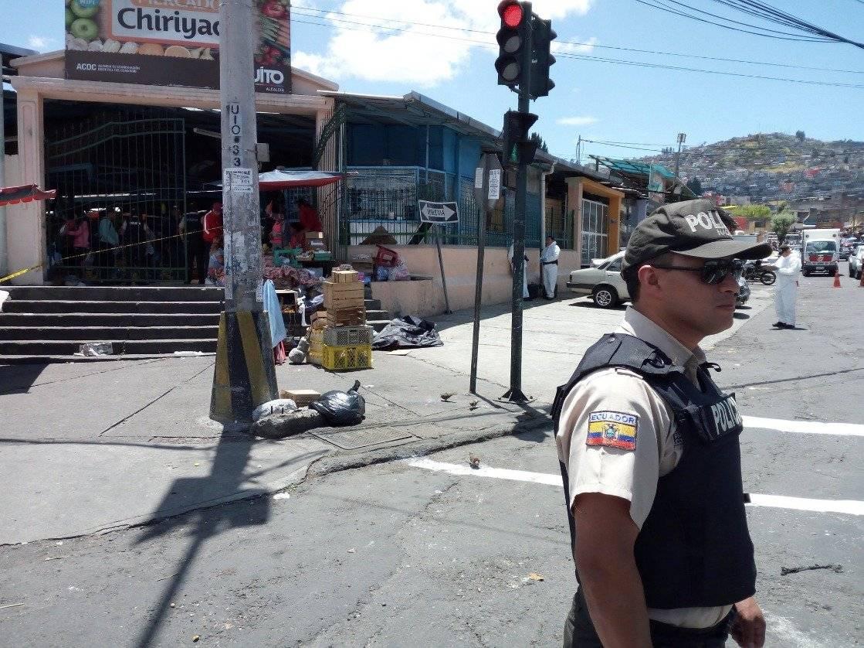Quito: Una balacera dejó un muerto en el mercado de Chiriyacu Twitter
