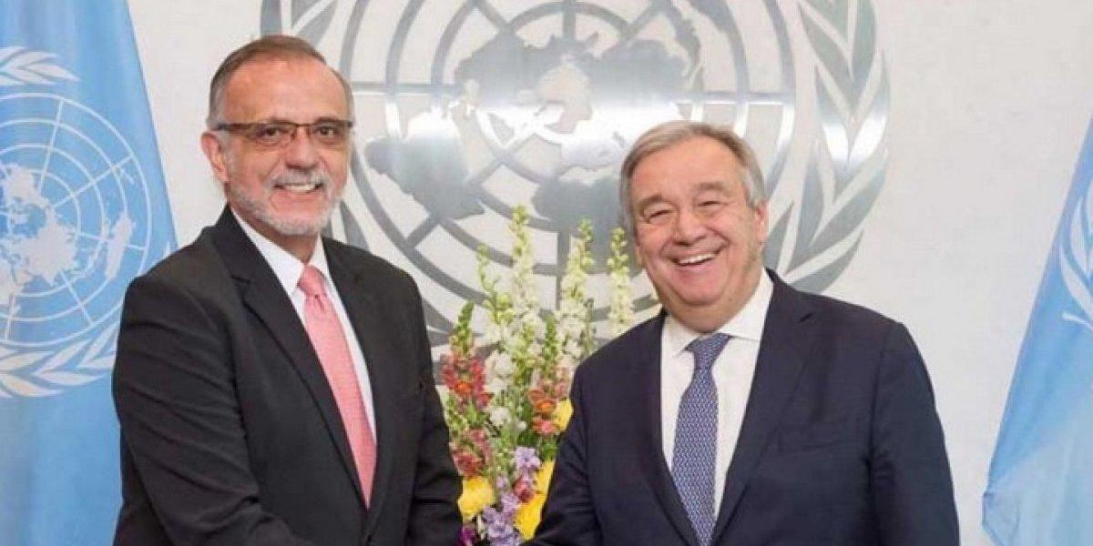 Secretario General de la ONU reitera apoyo a CICIG