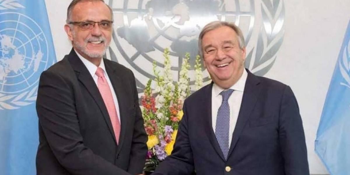 Congresistas de EE. UU. le piden a Secretario General de ONU mantener apoyo a CICIG y su comisionado