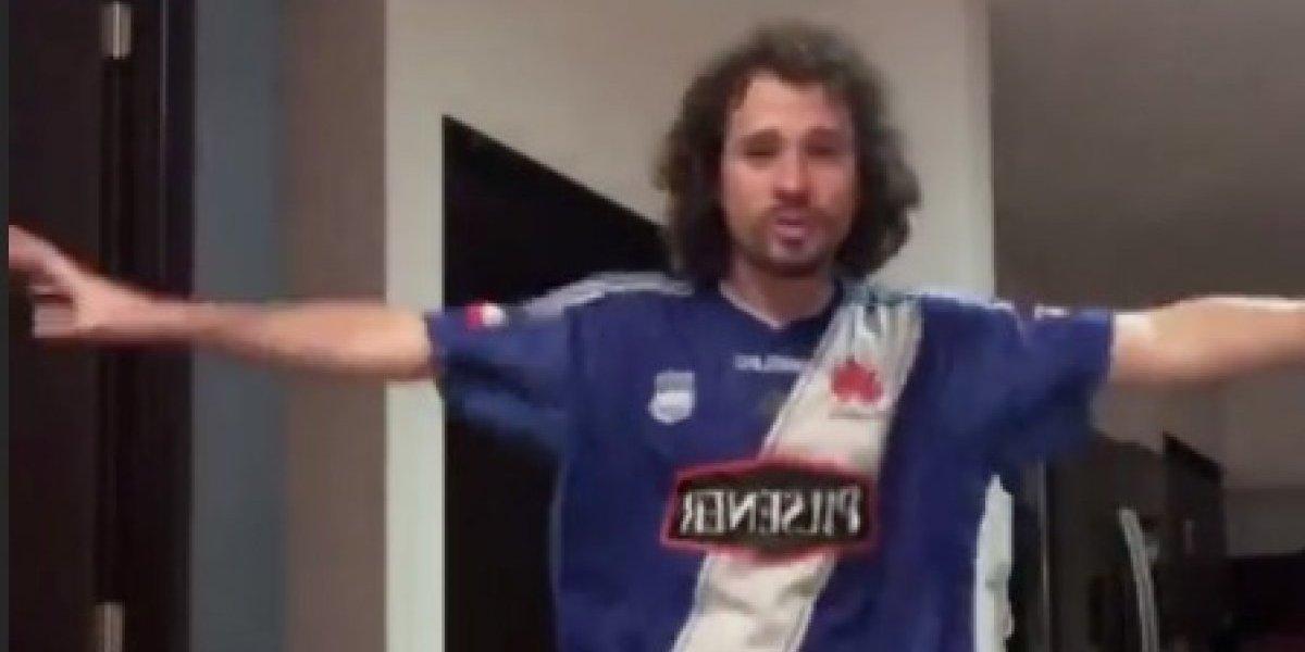 VIDEO: Luisito Comunica se puso la camiseta de Emelec