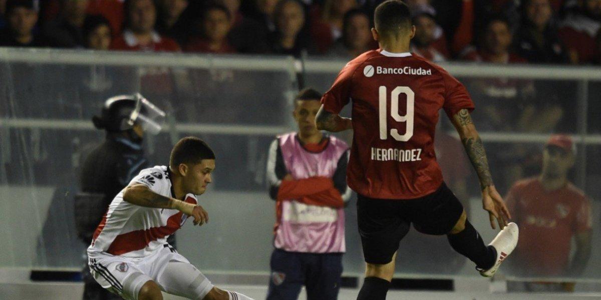 El Independiente de los chilenos se encontró con la muralla Armani y no sacó ventaja ante River